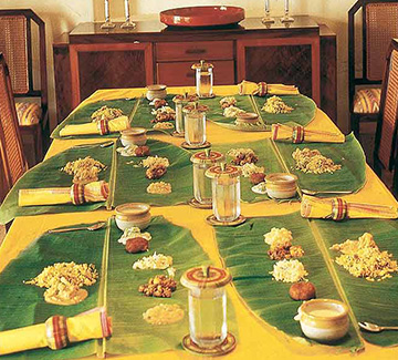 The classic Chettinad cuisine