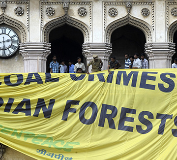 India's War on Greenpeace